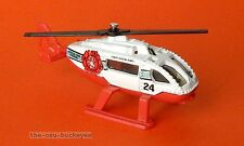 2012 Matchbox Loose Rescue Helicopter White Brush Fire New Multi Pack Exclusive