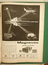 12/1960 PUB MAGNAVOX AN/ARC-50 SYSTEM AIRBORNE COMMUNICATIONS B-58 HUSTLER AD