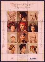 Ukraine Stamps 2006 UKRAINIAN FEMALE HEADDRESS HAT CAP FOLK COSTUMES WOMAN