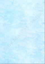 Marmorpapier A4 170g / m² 50 Blatt cyan