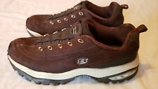 "Womens Skechers Premium Sport ""Size 8""  Chocolate Brown Suede Tennis Shoes"