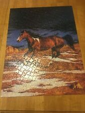 FRONT RUNNER ~ 500 PC. PUZZLE FROM SUNSOUT, ART BY CHRIS CUMMINGS, COMPLETE