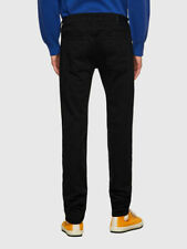 New listing Diesel mens Jeans Sleenker X 069EI Skinny Fit  Stay Black soft stretch denim