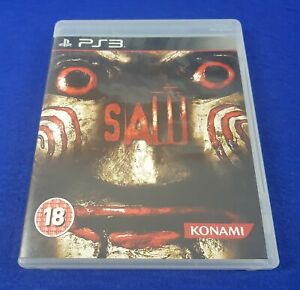 ps3 SAW The Official Video Game 18+ Survival Horror Game REGION FREE PAL Version