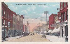 Jainesville, WI - Milwaukee Street looking West