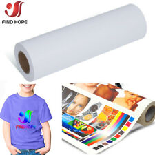 White Eco-Solvent Printable Heat Transfer Vinyl for all color T-shirt and fabric