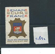 wbc. - CINDERELLA/POSTER - CB92 - EUROPE - SEMAINE DU CUIR DE FRANCE, PARIS 1927