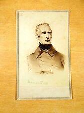 Alphonse de Lamartine Poet Writer Second Republic France CARTE DE VISITE cdv