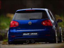 1:18 Tuning VW Golf 5 R32 + Porsche Echtalu-Felgen inkl. OVP = LIMITIERT =