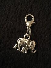 Indian Elephant Bracelet Charm Clip Purse Zip Bohemian Africa Animal Lover *UK
