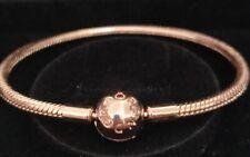 Pandora Bracelet 580728 SIZE 18cm Moments Snake Chain ALE MET