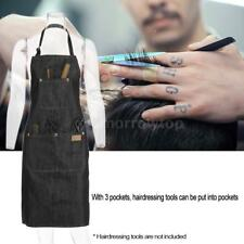 Salon Hair Cutting Apron Hairdressing Styling Cloth for Barber Black Jean