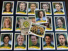 PANINI FIFA WM 2011 Women Damen Frauen Australien komplett - TOP