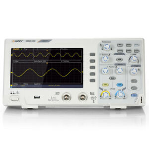 "Owon SDS1102 Oscilloscope Digital Storage 2CH 100MHz 1GS/s 7"" LCD Display F3A2"