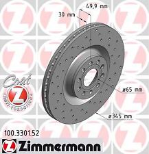 Bremsscheibe (2 Stück) SPORT-BREMSSCHEIBE COAT Z - Zimmermann 100.3301.52