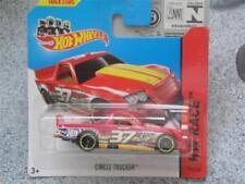 Camion di modellismo statico rosso Hot Wheels