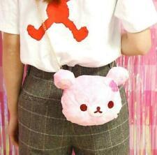Cute Rilakkuma Bear Messenger Bag Doll Bag Shoulder Bag Satchel Plush Bag Pink