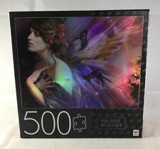 "MB Puzzle 500 Piece Jigsaw Puzzle Equinox Foil  24""x18"" Cardinal Hasbro #6044646"