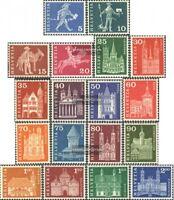 Schweiz 696x-713x (kompl.Ausgabe) gestempelt 1960 Städte