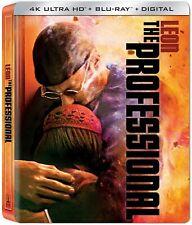 Leon The Professional (4K Ultra HD + Blu-ray + Digital , 2020, Steelbook) NEW!