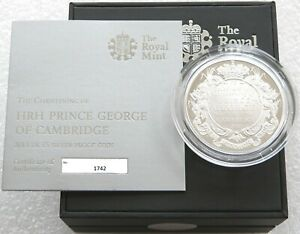 2013 Royal Mint SILVER COIN Prince George of CAMBRIDGE BOX / COA