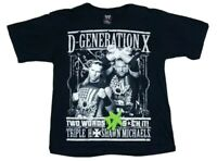 D-Generation X DX 2010 Fifth Sun Triple H Shawn Michaels HHH HBK T-Shirt Youth L