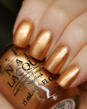 Opi Nordic Opi With A Nice Finn-Ish Gold Bronze Metallic Nail Polish Lacquer N41