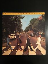 THE BEATLES Abbey Road MOBILE FIDELITY MFSL 1/2 Speed Mastered  LP MFSL 1-023