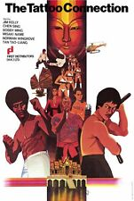 THE TATTOO CONNECTION Movie POSTER 11x17 Foreign Jim Kelly Sing Chen Tao-liang