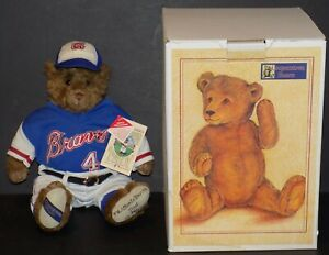 1974 ATLANTA BRAVES TEDDY BEAR COOPERSTOWN BEARS LIMITED EDITION 26/2,500
