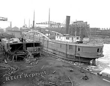 Historical 1906 Photograph Steamship Conestoga Great Lakes Engineering Works