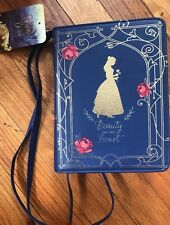 NEW Disney Beauty & The Beast Belle Rose Book Purse Bag