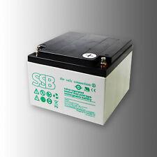 SSB Bleibatterie SBLV 24-12i 12V 24Ah VdS Longlife