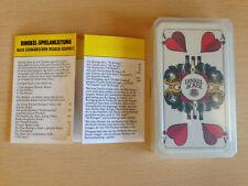 Spielkarten Binokel Deutsches Blatt Dinkelacker Werbung Kartenspiel Home-Pub