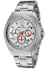 Lucien Piccard 28173SL Catalina Collection Chronograph Stainless Steel 100M Mens