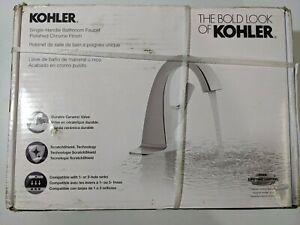 Kohler Lavatory Transitional Faucet Chrome Single Includes Drain & Escutcheon NW