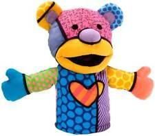 Romero Britto TAHLULLAH THE TEDDY Hand Puppet Enesco 4027996