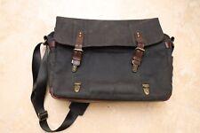 ONA Brixton Canvas Black Camera and Laptop Messenger Bag  $300+