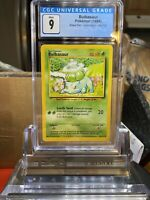 🌱BASE SET🌱 1999 Pokemon Game Bulbasaur CGC 9 MINT⭐️ - PSA BGS WOTC SA5