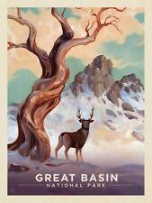 "Great Basin National Park Vintage Retro Travel Photo Fridge Magnet 2""x3"""