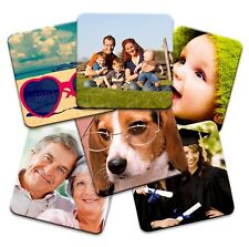 Set of 6 Personalised Square Photo Coasters!