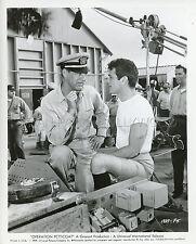 CARY GRANT TONY CURTIS  OPERATION PETTICOAT 1969 VINTAGE PHOTO ORIGINAL  #3