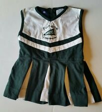 MICHIGAN STATE UNIVERSITY MSU Spartan Cheerleading Outfit size Toddler 3T USED