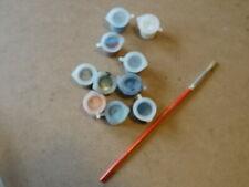 Humbrol acrylic paint pots x 10 for Airfix models