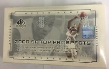 2000 Upper Deck SP Top Prospects Factory Sealed Basketball Hobby Box