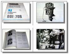 Yamaha 60F 70B 80A 90A Außenbordmotor Werkstatthandbuch Service Manual 1988