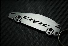 Para Civic LLAVERO KEYRING PORTE-CLÉS I VTEC se Tipo S R si FN2 GT rc mugen K20A