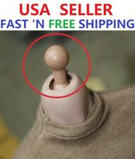 1/6 scale Male Neck Peg Joint Adapter For Hot Toys Male Body Head Sculpt