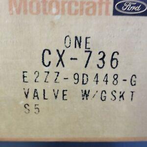 CX736 Motorcraft Ford NOS E2ZZ9D448G Egr Valve E2ZZ-9D448-G