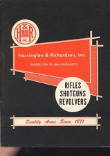 Harrington & Richardson 1956 Gun Catalog